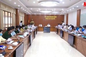 Ủy ban Bầu cử tỉnh An Giang rà soát tình hình chuẩn bị cuộc bầu cử đại biểu Quốc hội khóa XV và đại biểu HĐND các cấp nhiệm kỳ 2021-2026