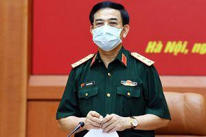Bộ Quốc phòng tăng cường lực lượng, phương tiện hỗ trợ Bắc Giang, Bắc Ninh chống dịch