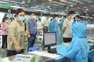 Bắc Giang dốc toàn lực lấy mẫu xét nghiệm công nhân tại khu công nghiệp