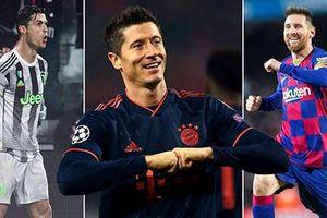 Chiếc giày Vàng châu Âu 2020/21: Lewy độc chiếm đỉnh bảng, Messi và Ronaldo ganh đua đến phút cuối