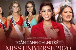 Hoa Hậu Khánh Vân cán đích với vị trí top 21 Miss Universe, giữ vững chuỗi intop cho Việt Nam