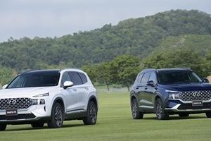 Hyundai Santa Fe 2021 ra mắt tại Việt Nam, giá bán từ 1.030 triệu đồng