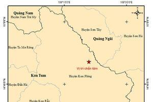 Kon Tum vừa ghi nhận 2 trận động đất liên tiếp