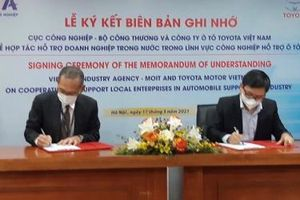 Toyota Việt Nam hỗ trợ doanh nghiệp nội làm công nghiệp hỗ trợ