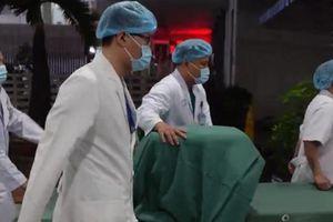 55 phút chuyển tạng của người chết não về TP.HCM để cứu 4 bệnh nhân