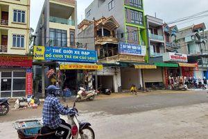 Huyện Chương Mỹ: Hố sụt lún ở xã Quảng Bị đã được khắc phục