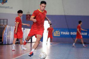 Tuyển futsal Việt Nam ngược dòng thắng tuyển Iraq trong trận giao hữu