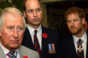Hoàng tử William và Thái tử Charles 'thấy không thể tin Harry nữa'