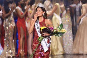 Hoa hậu Mexico đăng quang Hoa hậu Hoàn Vũ 2021