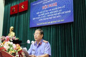 Viện phó VKS nói về việc giải quyết vụ KDC Hiệp Bình Chánh