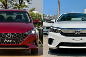 Sedan giá rẻ, chọn Hyundai Accent 1.4 AT hay Honda City E?