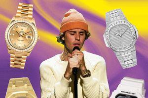 Vì sao Justin Bieber, Drake chi triệu USD mua đồng hồ?
