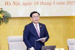 Chủ tịch Quốc hội Vương Đình Huệ: Quyết tâm không có địa phương, đơn vị nào phải tổ chức bầu cử muộn
