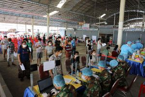 Dịch Covid-19 tại Campuchia hạ nhiệt, Phnom Penh sẽ gần như không còn 'Vùng Đỏ'