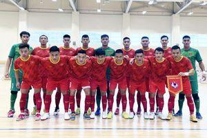 Tuyển Futsal Việt Nam đánh bại Iraq trong trận giao hữu