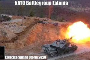 'Bão mùa xuân' NATO quét ngang biên giới Nga