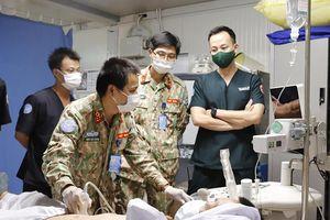 Thực hiện thành công giảm đau sau mổ tại Bệnh viện dã chiến Nam Sudan