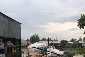 An Giang: Mưa dông làm sập, tốc mái 35 căn nhà