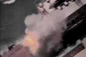 Israel tung video tấn công tàu ngầm của Hamas gần bờ biển Gaza