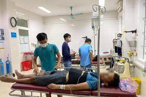 Hà Tĩnh: Nhảy lầu trốn công an, 3 con bạc bị chấn thương phải nhập viện