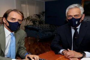 HLV Mancini dẫn dắt ĐT Italia đến năm 2026
