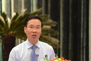 Ông Võ Văn Thưởng: Đẩy mạnh, kiên quyết phòng chống tham nhũng