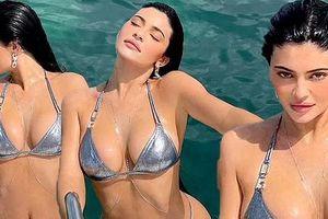Em út nhà Kim Kardashian lại 'dậy sóng' mạng xã hội với bộ ảnh bikini 'nảy lửa'