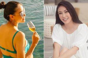 Hoa hậu Hà Kiều Anh diện bikini nóng bỏng, rạng rỡ đón sinh nhật tuổi 45