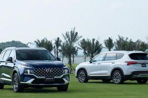 Hyundai Santa Fe 2021 chính thức trình làng thị trường Việt Nam