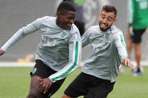 MU đàm phán ký đàn em Bruno Fernandes ở Sporting