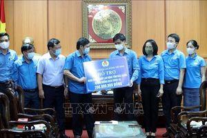 Tổng Liên đoàn Lao động Việt Nam hỗ trợ người lao động tỉnh Bắc Giang, Bắc Ninh