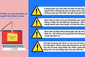 Vụ rao bán dữ liệu cá nhân người Việt: Không liên quan đến dữ liệu quốc gia về dân cư