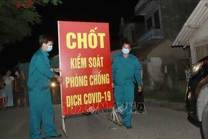 Dỡ bỏ cách ly y tế tại thôn Tiền Phong ở Vĩnh Phúc