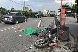 Va chạm với xe ben, nam thanh niên ngã xuống đường tử vong tại chỗ