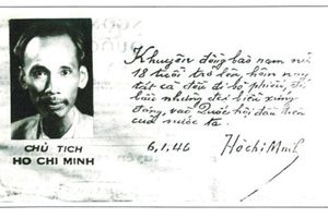 Chủ tịch Hồ Chí Minh với Quốc hội và công tác bầu cử