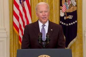 Tổng thống Joe Biden hứa chia sẻ 80 triệu liều vaccine Covid-19 cho thế giới