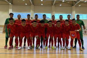 Đội tuyển futsal Việt Nam đánh bại Iraq