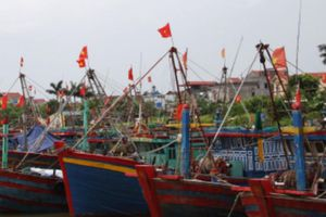 4 khu neo đậu tránh trú bão cho tàu cá ở Khánh Hòa