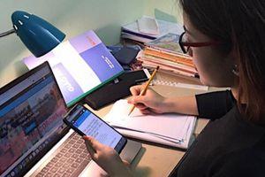 Học sinh lớp 12 tại Hà Nội sẽ thi khảo sát trực tuyến từ ngày 28 đến 30.5.2021