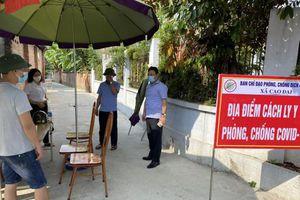 Vĩnh Phúc: Vĩnh Tường chủ động phòng chống dịch bảo đảm cho Nhân dân tham gia bầu cử
