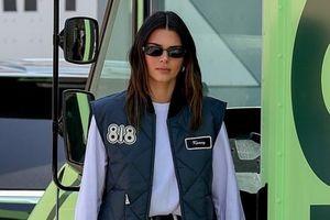Kendall Jenner diện trang phục khỏe khoắn tại buổi ra mắt nhãn hiệu rượu mới