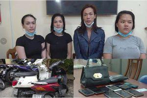TP.HCM: Bắt nhóm chuyển giới chuyên dàn cảnh trộm tài sản khách nước ngoài