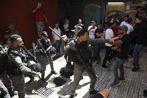 Người Palestine đình công phản đối Israel