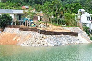 Hà Nội: Cận cảnh hồ chứa thủy lợi tại huyện Sóc Sơn đang bị 'bức tử'