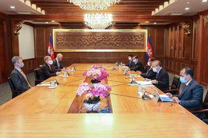 Mỹ hỗ trợ tài chính Campuchia ứng phó đại dịch Covid-19