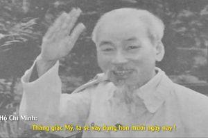 Người trẻ 'đổ màu' cho những thước phim tài liệu quý về Chủ tịch Hồ Chí Minh