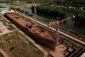 Bản sao Titanic đang được xây dựng ở Trung Quốc