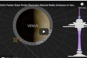 Phát hiện tín hiệu vô tuyến trên sao Kim, hành tinh sinh đôi với Trái đất