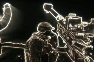Ấn tượng hình ảnh lính Mỹ bắn đạn pháo nhìn qua ống kính ban đêm mới
