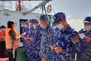 Bạc Liêu: Bầu cử sớm cho 37 cán bộ, chiến sỹ làm nhiệm vụ trên biển